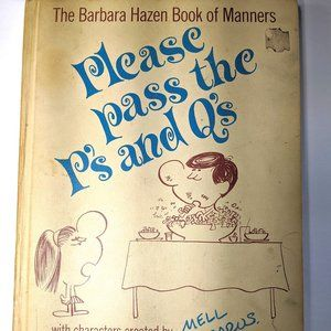 Vintage Please Pass the P's and Q's Book
